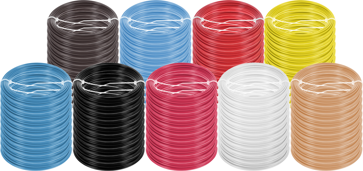 Plastiq пластик ABS 9 цветов по 10 м2990000001719Набор пластика ABS Plastiq - это главный и единственный расходный материал, используя который вы сможете делать мыслимые и немыслимые вещи, подсказанные вашим воображением.Пластик ABS может принимать много разных полимерных форм, ему можно придавать множество самых различных свойств. Его пластичность позволяет легко создавать элементы различных соединений и крепежа.Материал легко шлифуется и обрабатывается. Важно отметить, что ABS пластик растворяется в ацетоне, что позволяет склеивать детали и добиваться очень гладкой поверхности.При плавлении может выделять легкий запах пластмассы.