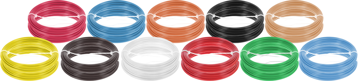Dewang пластик ABS 11 цветов по 20 м2990000001368Набор пластика ABS Dewang - это главный и единственный расходный материал, используя который вы сможете делать мыслимые и немыслимые вещи, подсказанные вашим воображением.Пластик ABS может принимать много разных полимерных форм, ему можно придавать множество самых различных свойств. Его пластичность позволяет легко создавать элементы различных соединений и крепежа.Материал легко шлифуется и обрабатывается. Важно отметить, что ABS пластик растворяется в ацетоне, что позволяет склеивать детали и добиваться очень гладкой поверхности.При плавлении может выделять легкий запах пластмассы.