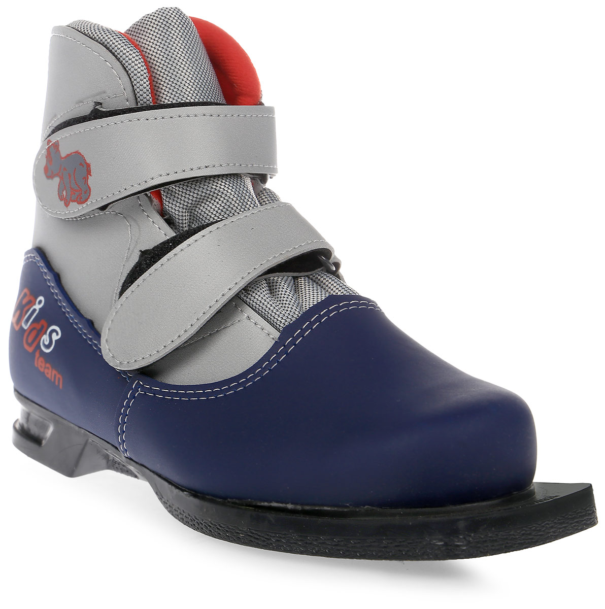 Ботинки лыжные детские Marax, цвет: синий, серый. NN75. Размер 34