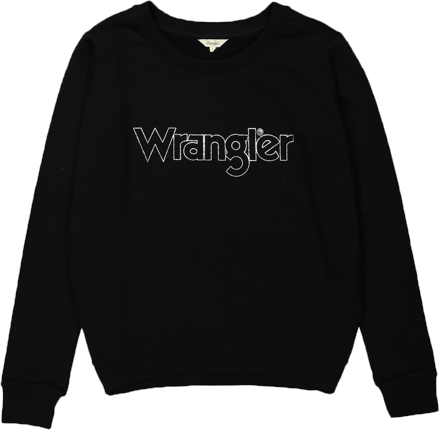 Джемпер жен Wrangler, цвет: черный. W6053HY01. Размер M (44)W6053HY01