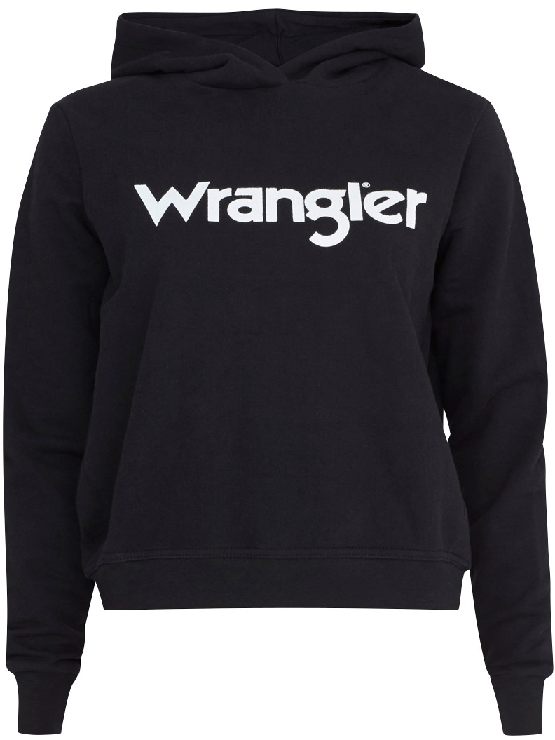 Джемпер жен Wrangler, цвет: черный. W6056HY01. Размер XS (40)W6056HY01