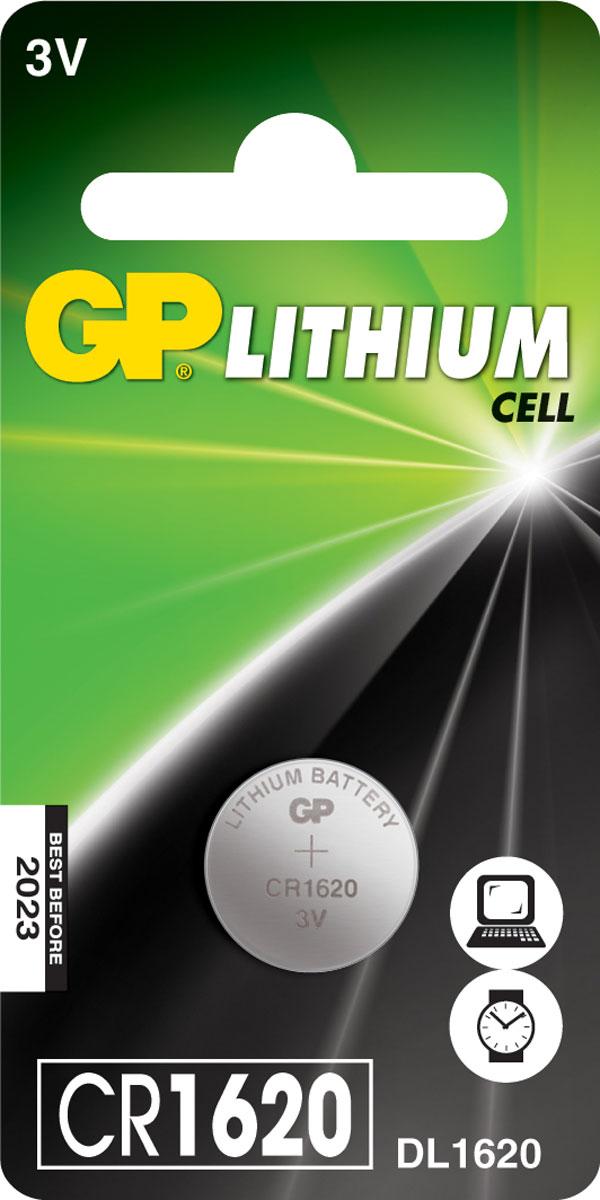 Батарейка литиевая GP Batteries, тип СR1620, 3В6690Литиевые элементы питания GP показывают великолепный результат в профессиональных приборах, а также в устройствах с высоким потреблением энергии. Они идеальны для медицинских приборов и отлично работают в экстремальных погодных условиях. - Лучшее решение для профессиональных и медицинских приборов- На 40% легче обычных батареек- Демонстрируют превосходный результат при экстремальных погодных условиях (от -40°C до 60°C)- Встроенная система защиты- Длительный срок хранения (10 лет)