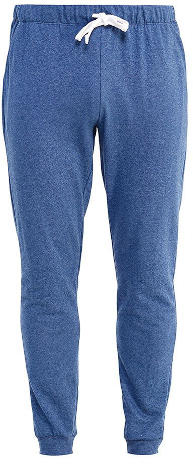 Брюки мужские Sela, цвет: темно-синий джинс. PH-265/009-7371. Размер XL (52)PH-265/009-7371Мужские домашние брюки от Sela выполнены из эластичного хлопкового трикотажа. Модель на талии дополнена эластичной резинкой и затягивающимся шнурком, по бокам – втачными карманами. По низу брючин имеются широкие трикотажные манжеты.