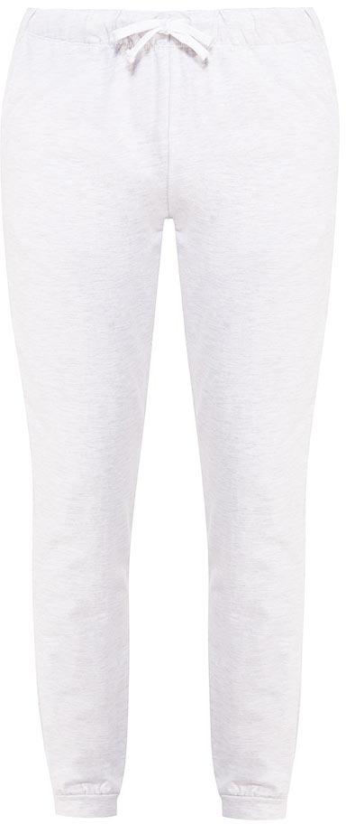 Брюки для дома мужские Sela, цвет: серый меланж. PH-265/010-7371. Размер XL (52)PH-265/010-7371Мужские домашние брюки от Sela выполнены из хлопкового трикотажа. Модель на талии дополнена эластичной резинкой и затягивающимся шнурком.