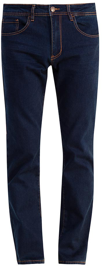 Джинсы мужские Sela, цвет: темно-синий джинс. PJ-235/103-7452. Размер 36-34 (52-34)PJ-235/103-7452Мужские джинсы от Sela выполнены из эластичного хлопка. Модель прямого кроя в талии застегивается на пуговицу, имеются шлевки для ремня и ширинка на застежке-молнии. Джинсы имеют классический пятикарманный крой.