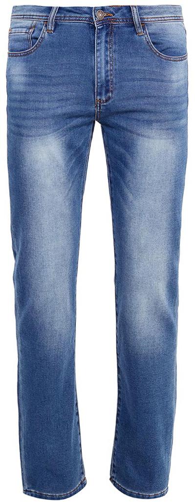 Джинсы мужские Sela, цвет: синий джинс. PJk-235/100-7361. Размер 36-34 (52-34)PJk-235/100-7361Мужские джинсы от Sela выполнены из эластичного хлопка. Модель Slim в талии застегивается на пуговицу, имеются шлевки для ремня и ширинка на застежке-молнии. Джинсы имеют классический пятикарманный крой.
