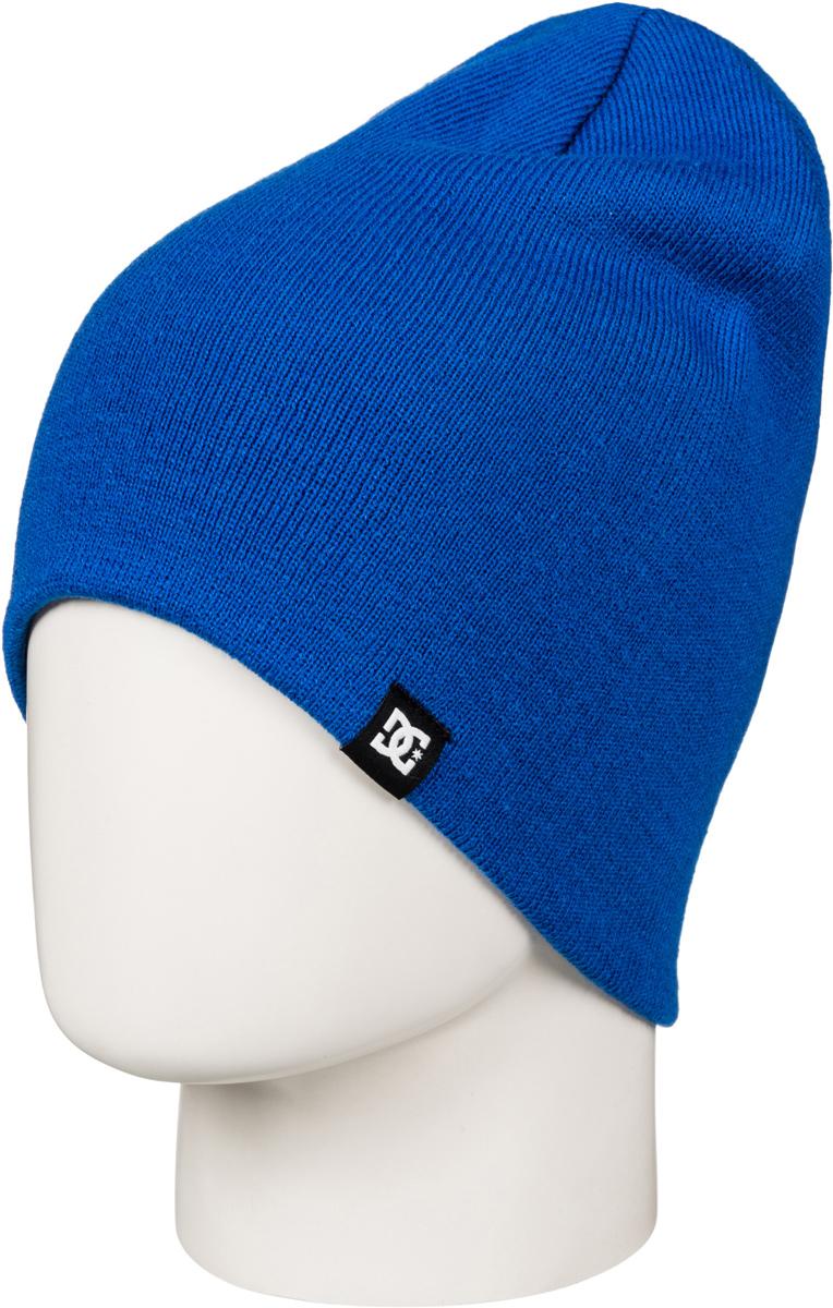 Шапка мужская DC Shoes, цвет: синий, индиго, голубой. EDYHA03059-BQR0. Размер универсальныйEDYHA03059-BQR0Мужская шапка от DC Shoes идеально подойдет для прогулок и занятия спортом в прохладное время года. Шапка изготовлена из мягкой высококачественной пряжи, она обладает хорошими дышащими свойствами и отлично удерживает тепло. Шапка оформлена ярлыком с логотипом бренда. Такая шапка станет модным и стильным дополнением вашего зимнего гардероба. Она поднимет вам настроение даже в самые морозные дни!