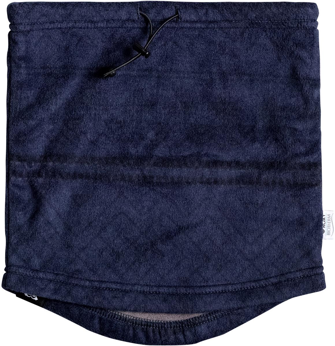 Снуд женский Roxy Cascade, цвет: темно-синий. ERJAA03295-BTN8. Размер универсальныйERJAA03295-BTN8Эргономичный женский снуд Roxy Cascade не позволит вам замерзнуть в холодное время года. Изделие выполнено из высококачественного полиэстера с подкладкой из косметотекстиля Enjoy & Care. Шарф на утяжке оформлен оригинальным узором и фирменной нашивкой.
