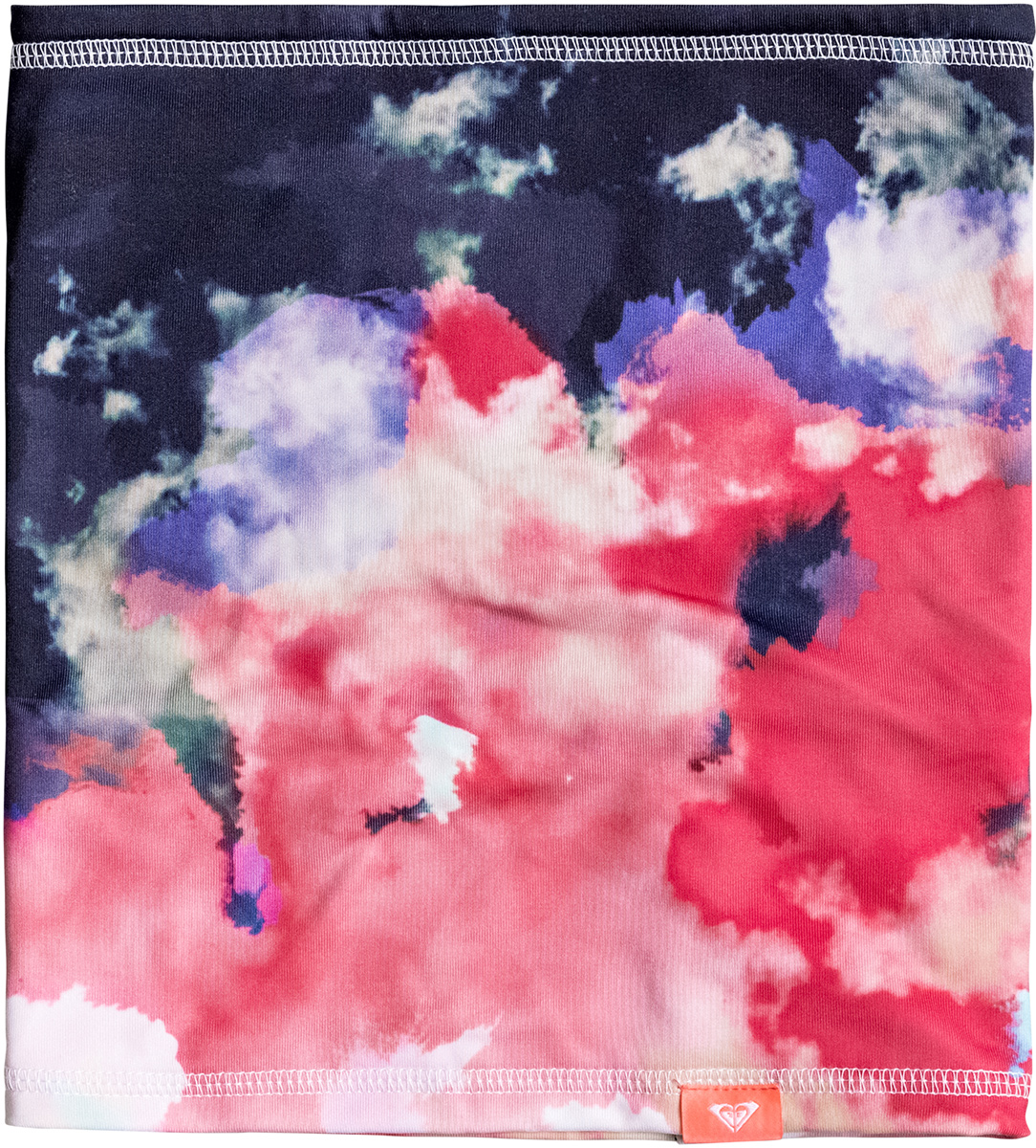 Снуд женский Roxy Lana, цвет: темно-синий, розовый. ERJAA03291-NKN6. Размер универсальныйERJAA03291-NKN6Удобный женский снуд Roxy Lana дополнит ваш образ и не позволит вам замерзнуть в холодное время года. Снуд выполнен из эластичной синтетики с подкладкой из косметотекстиля Enjoy & Care, что позволяет ему сохранять тепло и обеспечивает высокую эластичность и удобство посадки.