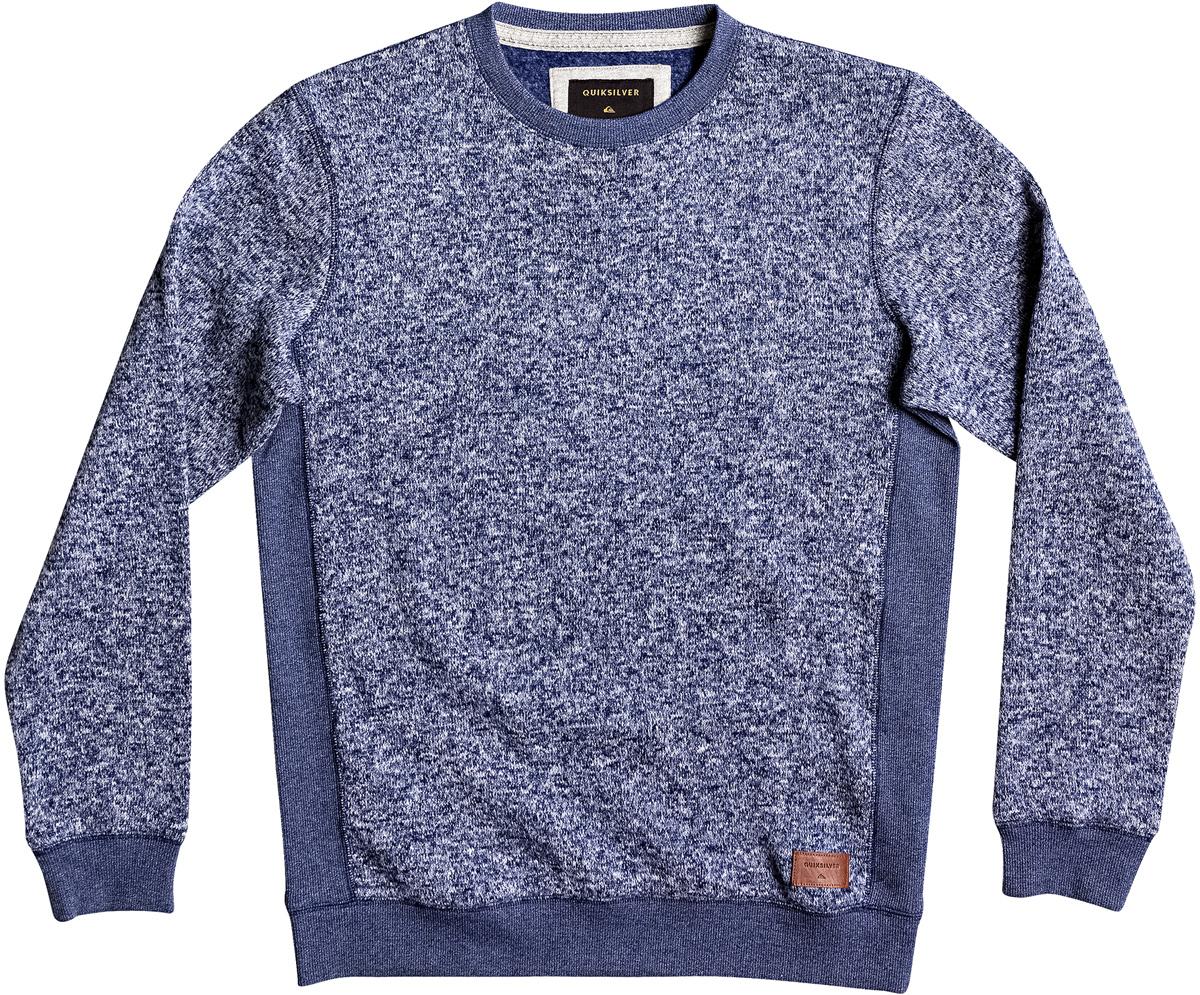 Свитшот мужской Quiksilver, цвет: синий, серо-голубой. EQYFT03659-BTEH. Размер XXL (54) стилус polar pp001