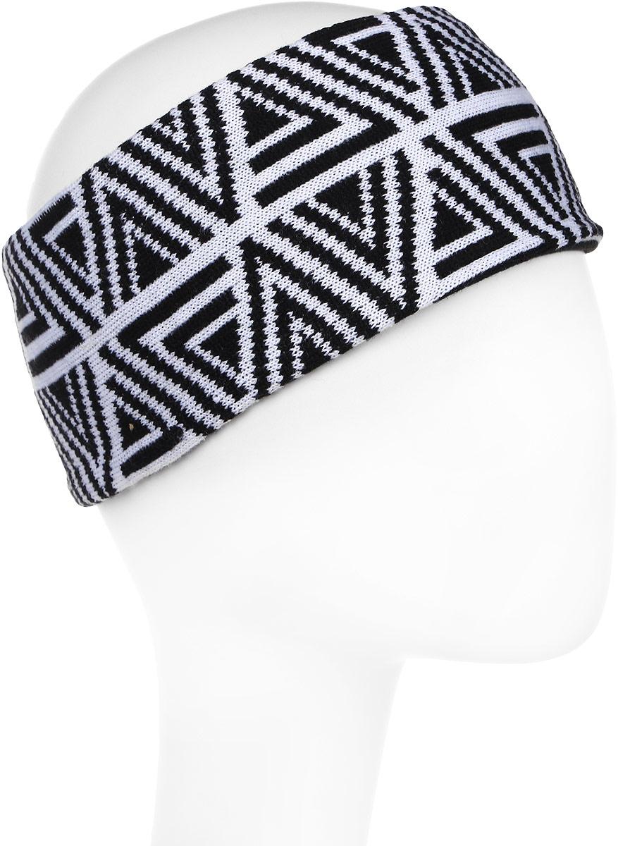 Повязка на голову мужская Icepeak, цвет: черный. 858842579IV-990. Размер универсальный
