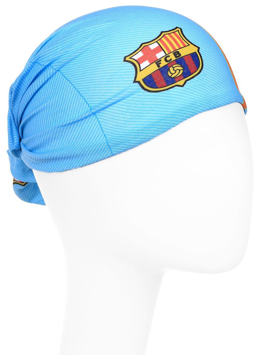 Бандана Buff Barcelona, цвет: красный, синий. 115146.555.10.00. Размер универсальный115146.555.10.00Buff - это оригинальные, мультифункциональные, бесшовные головные уборы - удобные и комфортные для любого вида активного отдыха и спорта. Оригинальные, потому что Buff был и является первым в мире брендом мультифункциональных, бесшовных и универсальных головных уборов. Мультифункциональные, потому что их можно носить самыми разными способами: как шарф, как шапку, как балаклаву, косынку, бандану, маску, напульсник и многими другими - решает Ваша фантазия! Универсальный головной убор, который можно носить более чем двенадцатью способами, который можно использовать при занятии любым видом спорта, езде на велосипеде и мотоцикле, катаясь или бегая на лыжах, и даже как аксессуар в городской одежде. Бесшовные, благодаря эластичности, позволяющей использовать эти головные уборы как угодно и не беспокоиться о том, что кожа может быть натерта или раздражена швами.