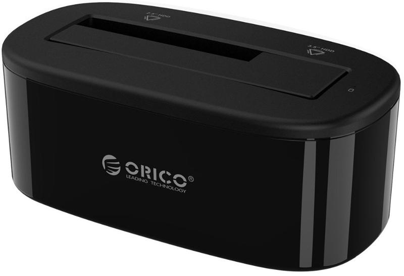 Orico 6218US3, Black док-станция для HDDORICO 6218US3-BKДок-станция ORICO 6218US3 совместима с 2,5 и 3,5 дюймовыми жёсткими дисками и SSD. Док-станция подключается к ПК или ноутбуку по разъёму USB 3.0. Не требует установки драйверов и совместима с большинством популярных операционных систем: Windows XP, Vista, 7, 8, 8.1, 10, Mac OS и Linux.