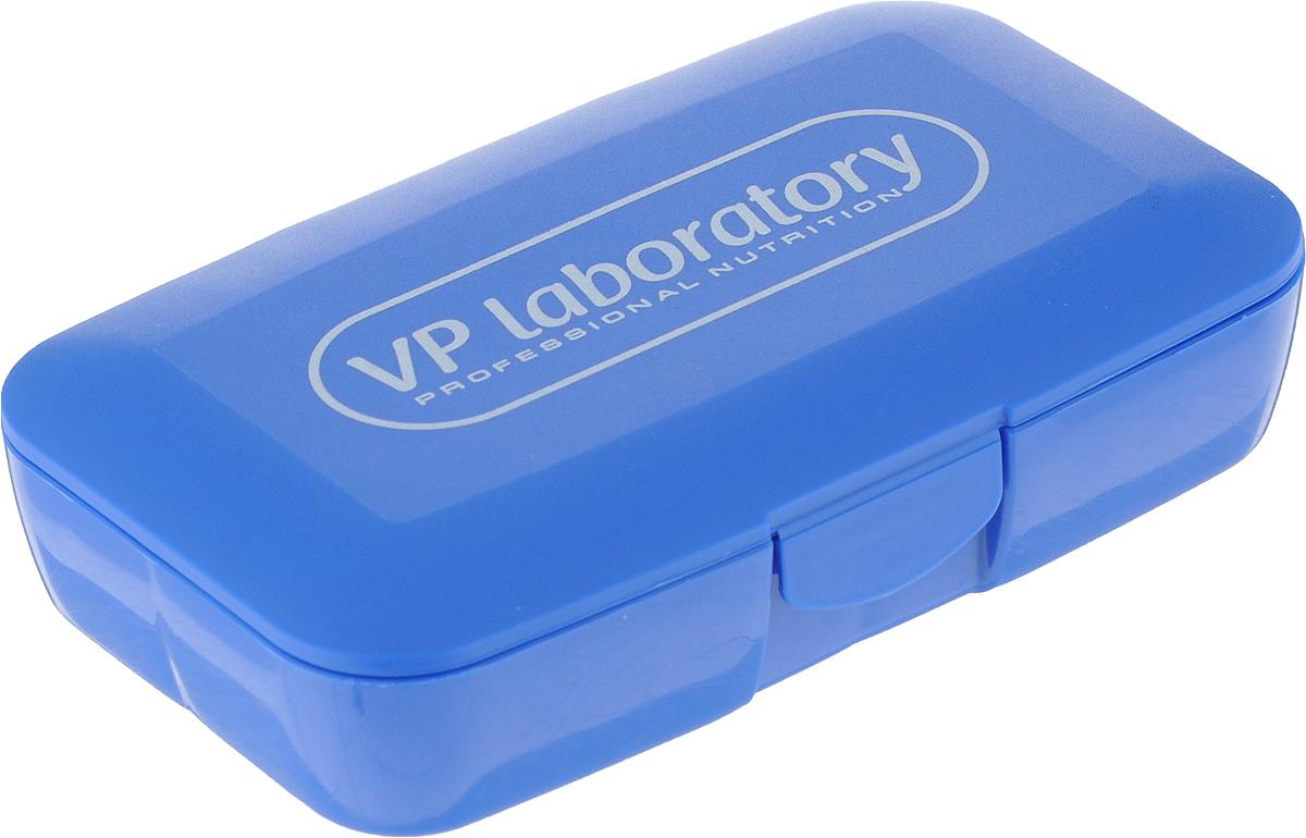 Органайзер для таблеток Vplab, цвет: синий, белый, 12,5 х 7,  3 см