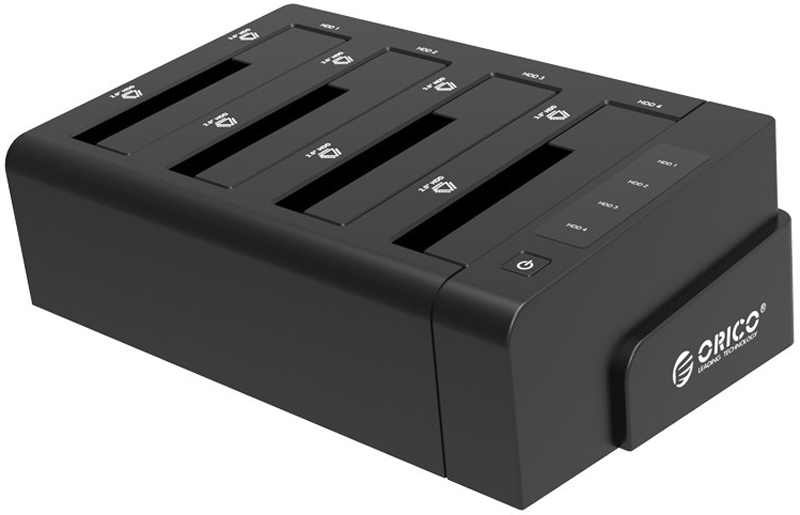 Orico 6638US3-C, Black док-станция для HDD - Док-станции и подставки