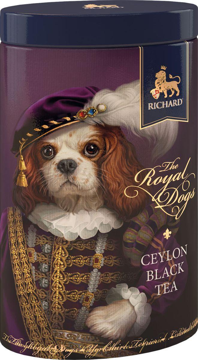Richard The Royal Dogs спаниель чай черный крупнолистовой, 80 г100325_спаниельРичард предлагает коллекцию классического чёрного цейлонского чая с парадными портретами английских королевских любимых пород собак, которые принесут в 2018 году, год Собаки - удачу в каждый дом.Всё о чае: сорта, факты, советы по выбору и употреблению. Статья OZON Гид