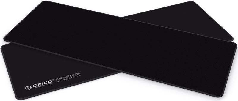 Orico MPS8030, Black, коврик для игровой мышиORICO MPS8030-BKКлассические формы для игрового коврика. Все максимально просто и надежно. Ничего лишнего, отвлекающего от работы или игры. Основа коврика выполнена из мягкой резины толщиной 3 мм. Достаточно места для манипуляций мышкой, а кисть руки не устает так как лежит на мягком коврике. Пользователь может пользоваться мышкой в любой части коврика. Движение мышки в одном направлении может быть почти бесконечным. Ровная гладкая поверхность коврика из ткани высокого качества обеспечивает точный отклик на запрос и позиционирование. Даже при движении мышки на высоких скоростях точность определения положения сохраняется на высоком уровне. Это крайне важно в играх и в работе дизайнеров. Специальная текстура резиновой основы коврика обеспечивает плотное прилегание его к поверхности стола и исключает проскальзывание. Прошитые края коврика исключают появление зазубрин из ткани, обеспечивают удобство использования и срок службы устройства.