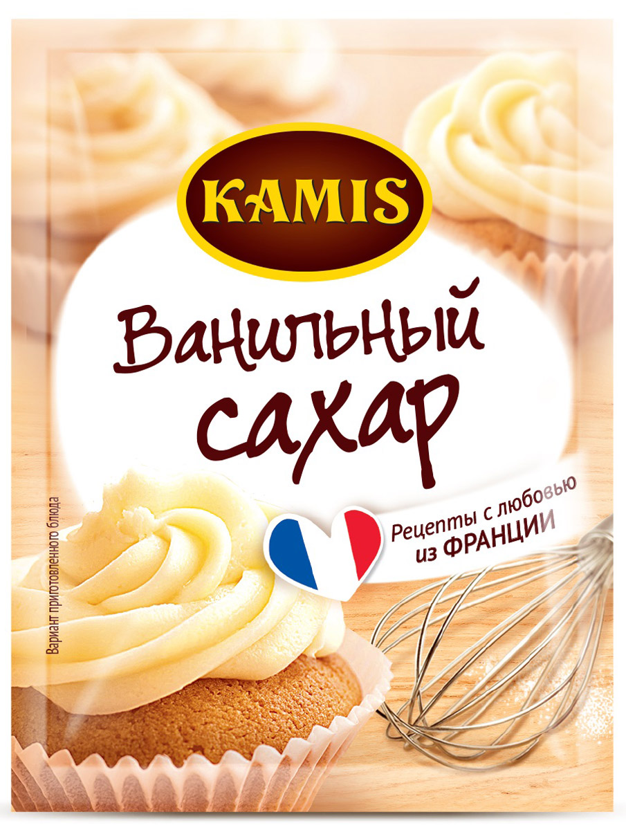 Kamis ванильный сахар, 45 шт по 8 г901311093