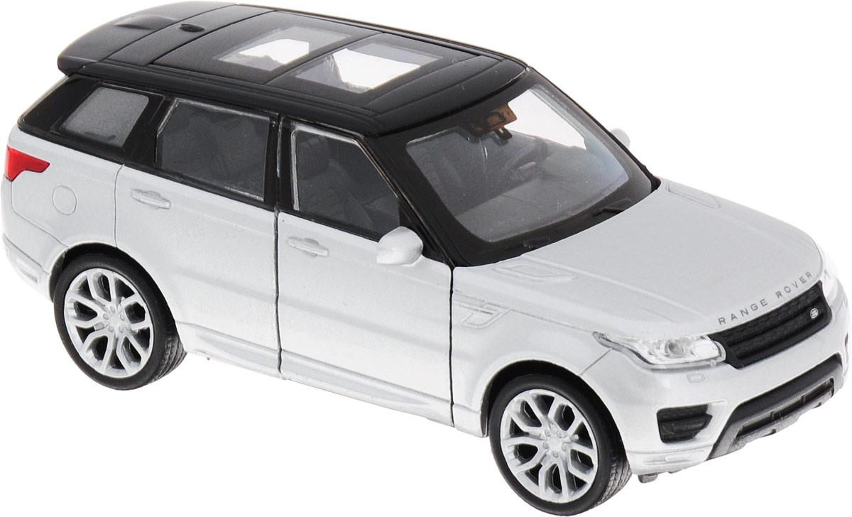Welly Модель автомобиля Land Rover Range Rover Sport цвет серебристый игрушка pitstop land rover range rover sport black ps 554007 bl
