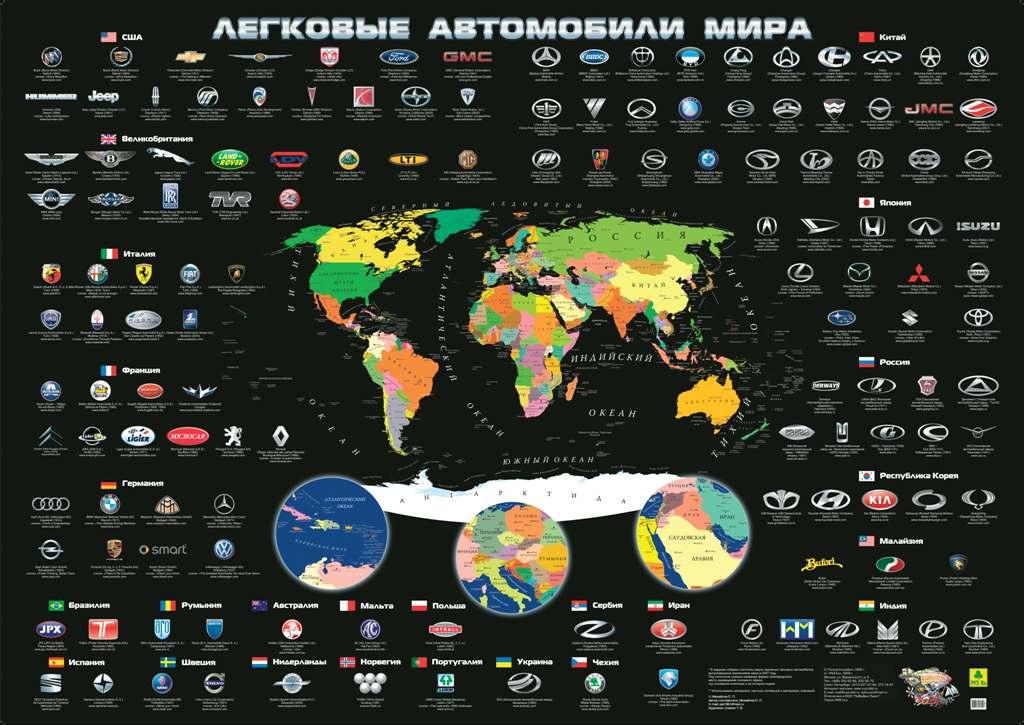 Легковые автомобили мира. Плакат р автомобили мира гоночные автомобили