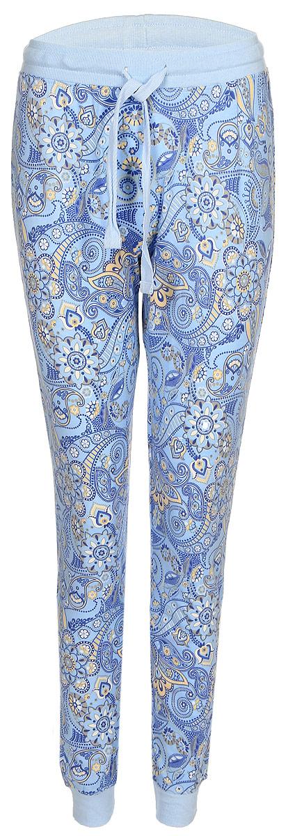 Брюки женские Sela, цвет: голубой. PH-165/006-7331. Размер M (46)PH-165/006-7331