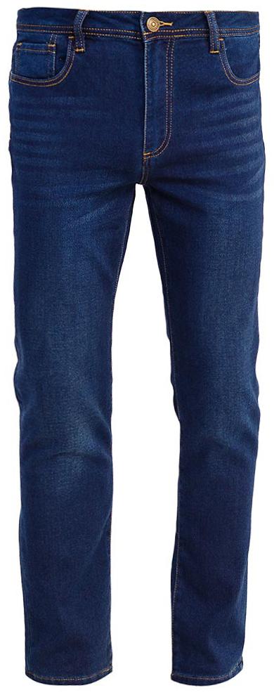Джинсы мужские Sela, цвет: темно-синий джинс. PJk-235/101-7361. Размер 36-34 (52-34)PJk-235/101-7361Мужские джинсы от Sela выполнены из эластичного хлопка. Модель Slim в талии застегивается на пуговицу, имеются шлевки для ремня и ширинка на застежке-молнии. Джинсы имеют классический пятикарманный крой.