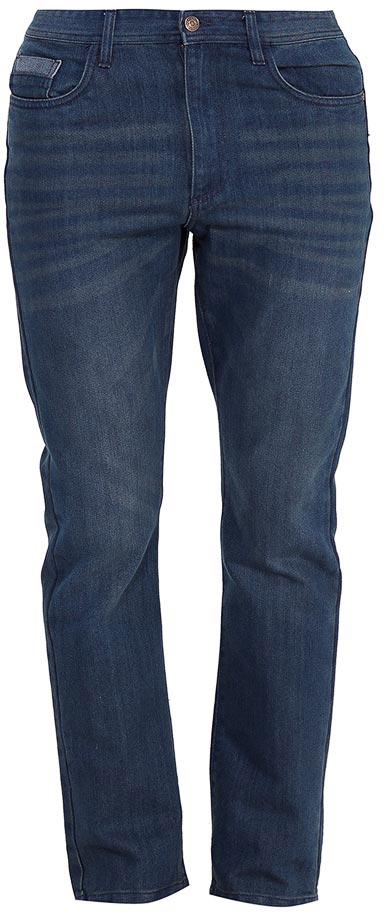 Брюки мужские Sela, цвет: темно-синий джинс. PJ-235/1096-7361. Размер 34-34 (50-34)PJ-235/1096-7361