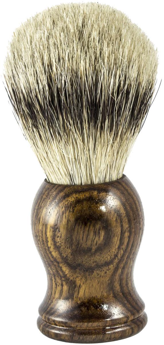 Metzger Barbering Помазок ручной работы RoseWood с кистью из ворса барсука, 11,5 см. SB-11260