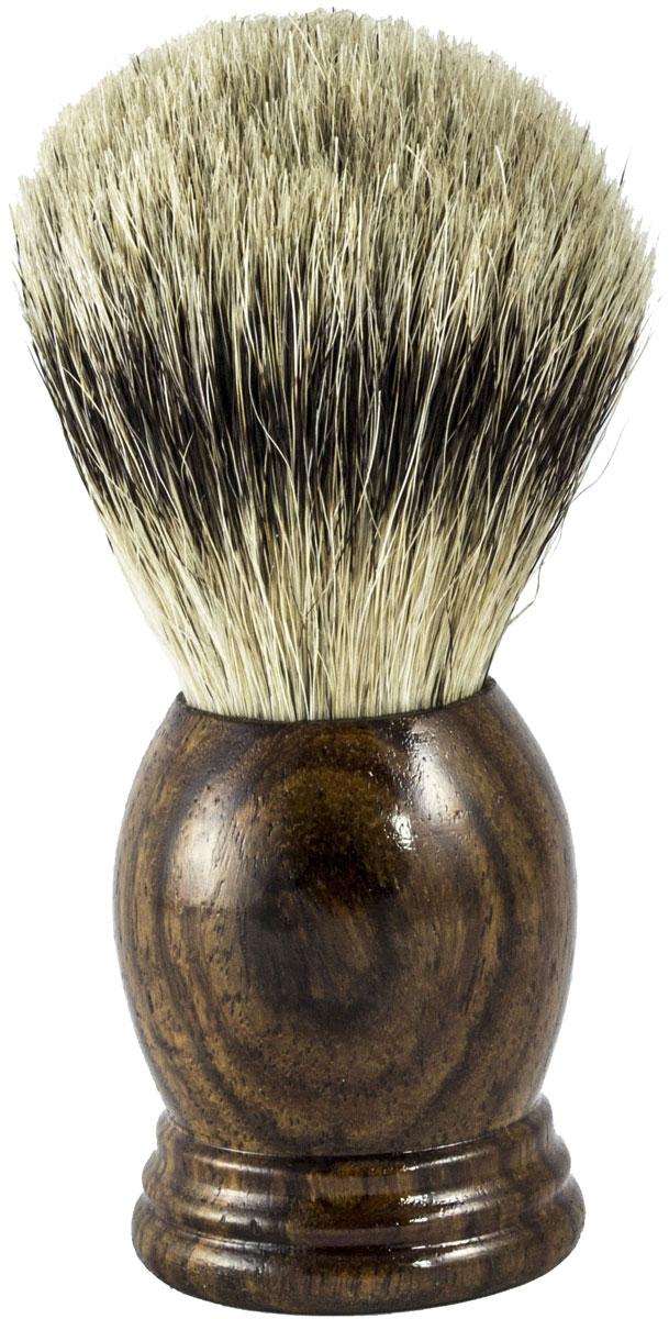 Metzger Barbering Помазок ручной работы RoseWood с кистью из ворса барсука, 11,5 см. SB-11261 - Мужские средства для бритья и уход за бородой