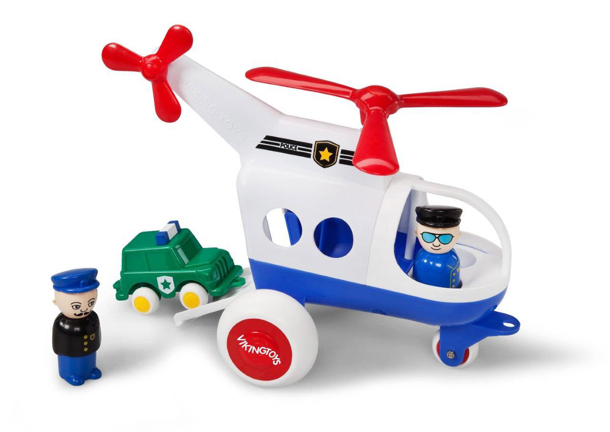 Viking Toys Вертолет Джамбо Полиция - Транспорт, машинки