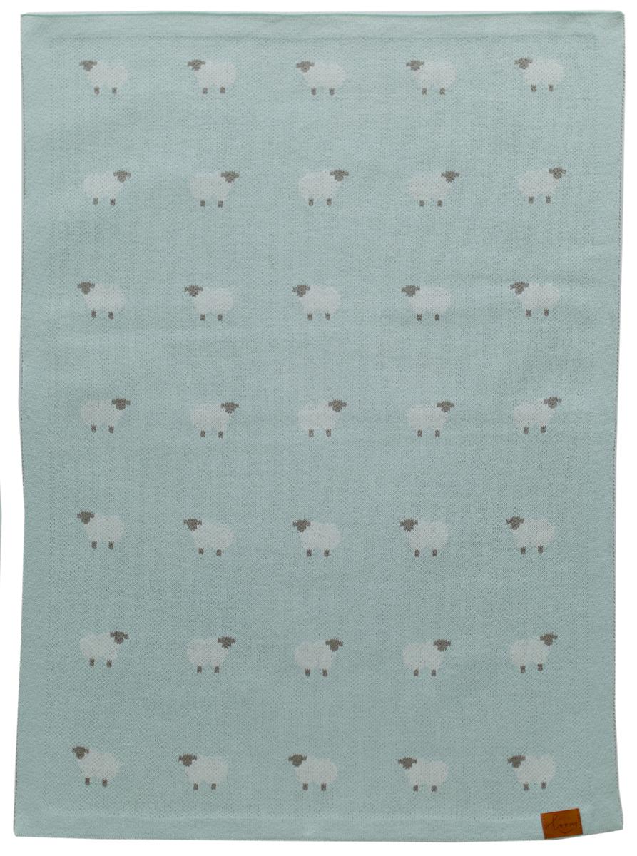 Loom Плед детский Animal Sheep цвет зеленый 70 x 100 см4691391300051Нежнейший и милый плед с овечками. Когда его возьмете в руки - поймете все сами. Выполнен из первоклассного акрила. Все плюсы полушерсти. Хорошо подходит для прохладного вечера.