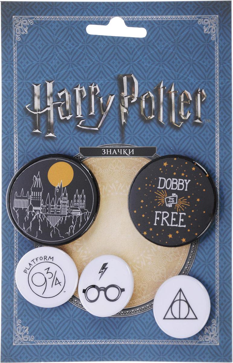 цена на Набор значков. Гарри Поттер (5 шт.) (оф.2)