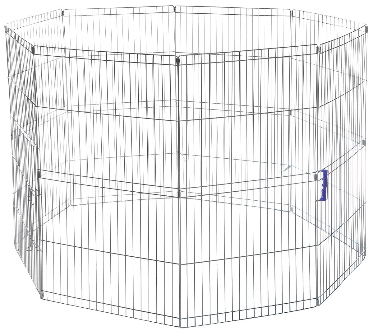Клетка-загон для животных Camon, складная, 8 панелей, 57 x 100 смC174/BУдобная складная клетка-загон для животных Camon, изготовленная из металла, легко и быстро собирается. Изделие имеет 8 панелей. Такая клетка легко располагается в автомобиле, поезде и в любом другом месте, а также ограничивает передвижения маленьких четвероногих друзей по квартире.Размер клетки: 57 х 100 см.