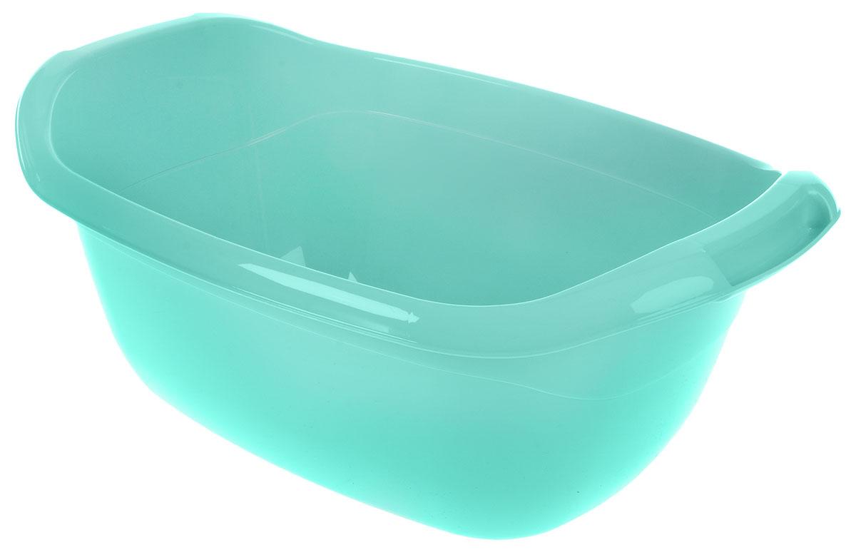Таз Idea, овальный, цвет: аквамарин, 30 л, 63 х 41 х 26 см канвас idea балкончик 40 х 50 см