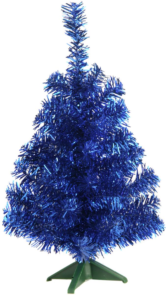 Ель искусственная Morozco, настольная, цвет: синий, высота 30 см0703синНастольная искусственная ель Morozco - прекрасный вариант для оформления вашего интерьера к Новому году. Такие деревья абсолютно безопасны, удобны в сборке и не занимают много места при хранении.Ель состоит из верхушки, ствола и устойчивой подставки. Ель быстро и легко устанавливается и имеет естественный и абсолютно натуральный вид, отличающийся от своих прототипов разве что совершенством форм и мягкостью иголок.Еловые иголочки, расположенные в хаотичном порядке для большей пушистости, не осыпаются, не мнутся и не выцветают со временем. Полимерные материалы, из которых они изготовлены, нетоксичны и не поддаются горению. Ель Morozco обязательно создаст настроение волшебства и уюта, а также станет прекрасным украшением дома на период новогодних праздников.