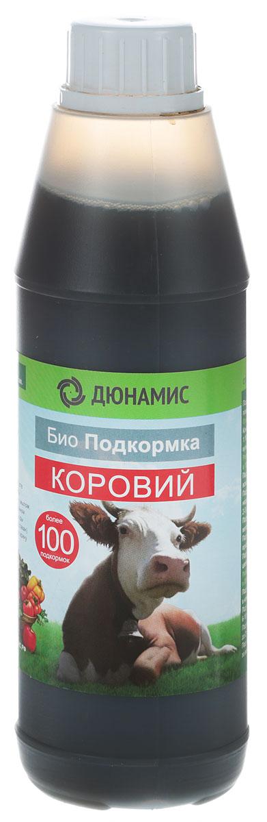 Био-удобрение Дюнамис Коровий, концентрат, 500 мл удобрение органическое оргавит коровий 2кг