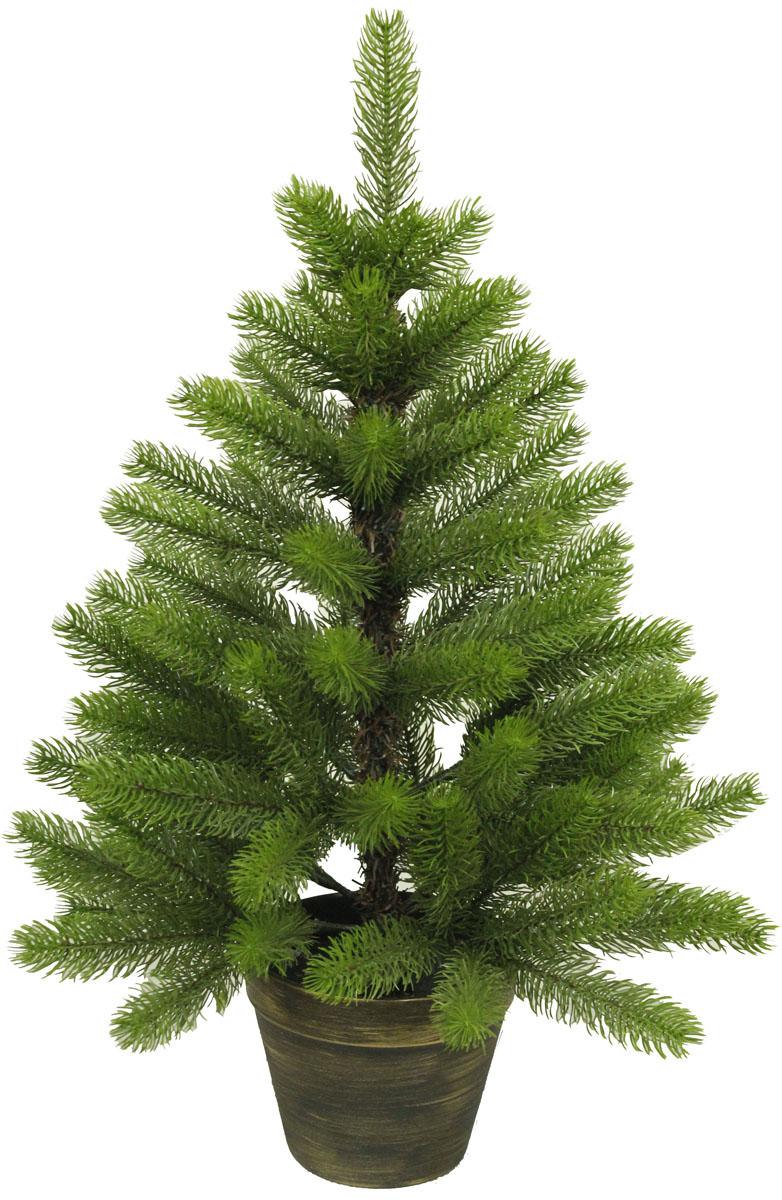 Ель искусственная Beatrees Gloria, настольная, цвет: зеленый, высота 0,6 мGA001G-AA96-L20Искусственная настольная ель Beatrees Gloria - это прекрасный вариант для оформления интерьера к Новому году. Остается только собрать и нарядить красавицу. Она абсолютно безопасна, удобна в сборке и не занимает много места при хранении. Ель состоит из верхушки, сборного ствола и устойчивой подставки. Ель быстро и легко устанавливается. Инструкция в комплекте.Сказочно красивая новогодняя елка украсит интерьер вашего дома и создаст теплую и уютную атмосферу праздника. Откройте для себя удивительный мир сказок и грез. Почувствуйте волшебные минуты ожидания праздника, создайте новогоднее настроение вашим дорогим и близким.
