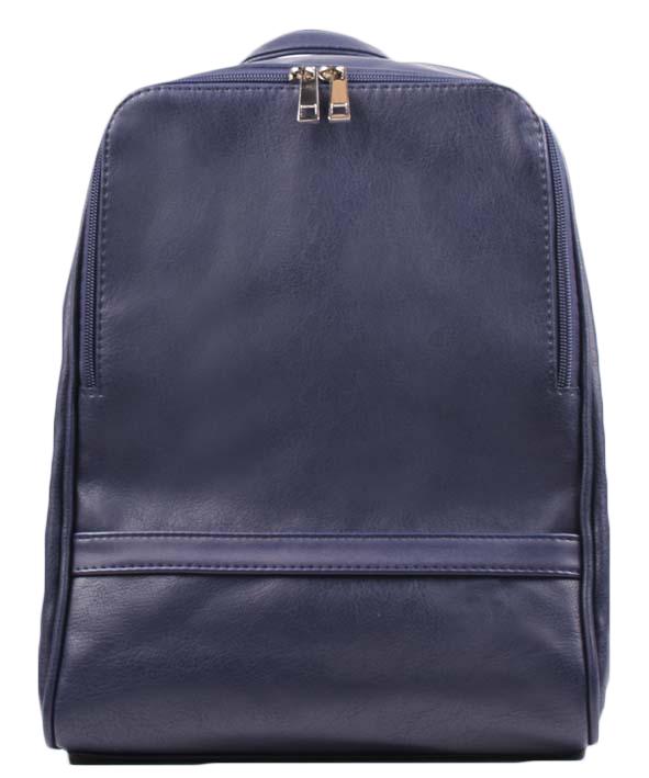 Сумка-рюкзак женская Медведково, цвет: темно-синий. 17с6011-к14
