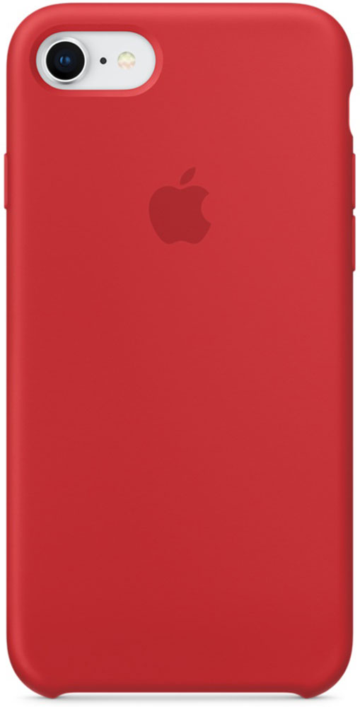 Apple Silicone Case чехол для iPhone 7/8, Product RedMQGP2ZM/AСиликоновый чехол от Apple - отличное дополнение к вашему iPhone. Он плотно прилегает к кнопкам громкости и режима сна и точно повторяет контуры телефона, сохраняя его тонкий профиль. Мягкая подкладка из микрофибры защищает корпус iPhone. А внешняя силиконовая поверхность приятна на ощупь.