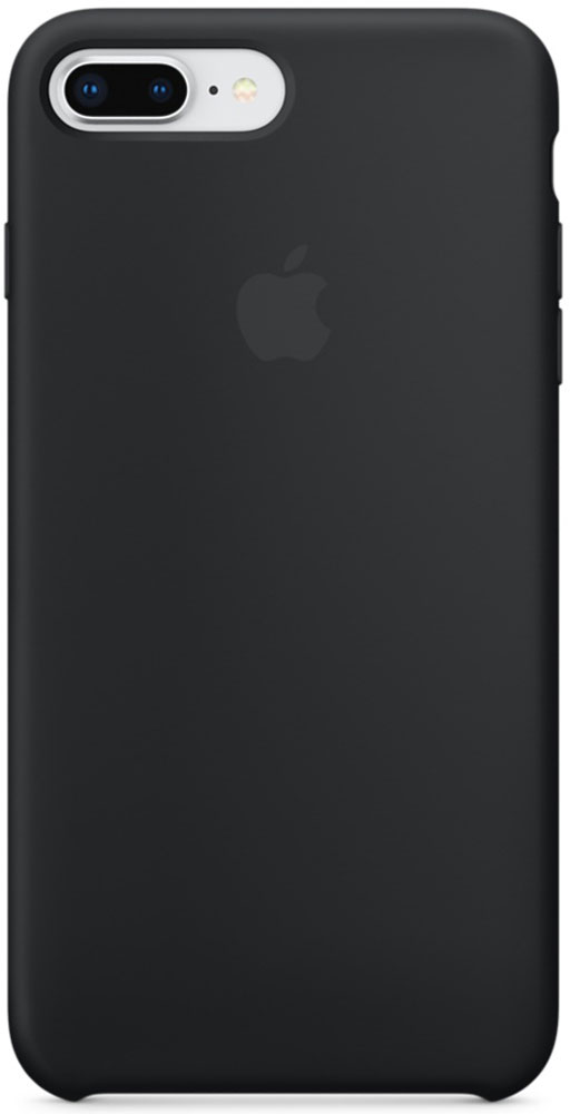 Apple Silicone Case чехол для iPhone 7 Plus/8 Plus, BlackMQGW2ZM/AСиликоновый чехол от Apple - отличное дополнение к вашему iPhone. Он плотно прилегает к кнопкам громкости и режима сна и точно повторяет контуры телефона, сохраняя его тонкий профиль. Мягкая подкладка из микрофибры защищает корпус iPhone. А внешняя силиконовая поверхность приятна на ощупь.
