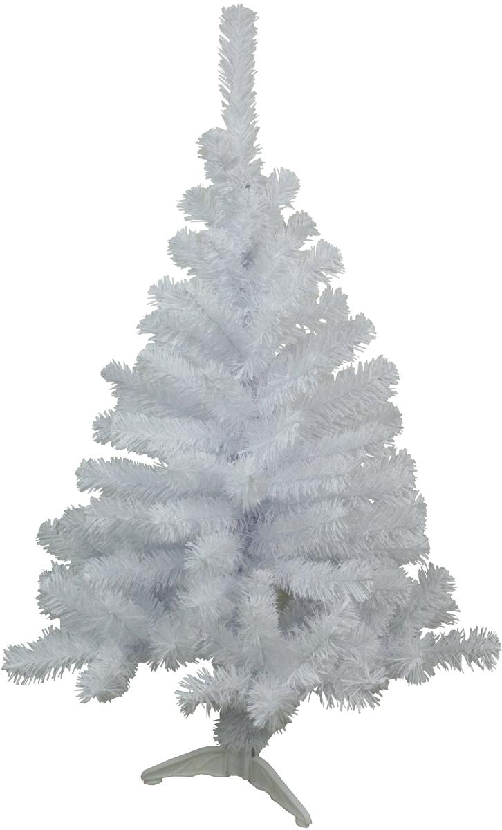 Ель искусственная Morozco Метелица, цвет: белый, высота 1 м1010Искусственная ель Метелица - прекрасный вариант для оформления вашего интерьера к Новому году. Такие деревья абсолютно безопасны, удобны в сборке и не занимают много места при хранении.Ель состоит из верхушки, ствола и устойчивой подставки. Ель быстро и легко устанавливается и имеет естественный и абсолютно натуральный вид, отличающийся от своих прототипов разве что совершенством форм и мягкостью иголок.Еловые иголочки не осыпаются, не мнутся и не выцветают со временем. Полимерные материалы, из которых они изготовлены, нетоксичны и не поддаются горению. Ель Morozco обязательно создаст настроение волшебства и уюта, а также станет прекрасным украшением дома на период новогодних праздников.