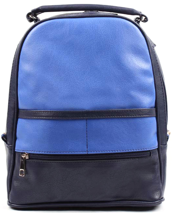 Рюкзак женский Медведково, цвет: темно-синий. 17с6072-к14