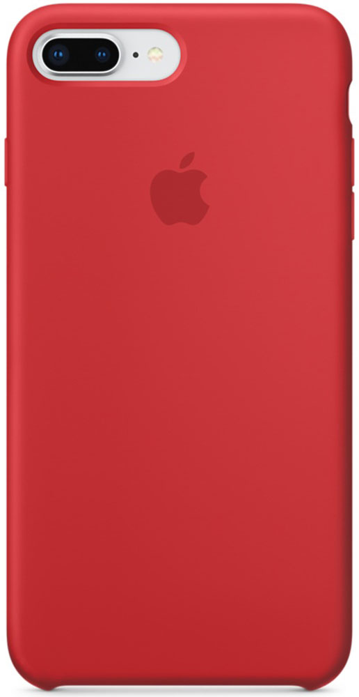 Apple Silicone Case чехол для iPhone 7 Plus/8 Plus, Product Red силиконовый чехол apple silicone case для iphone 8 7 цвет product red красный