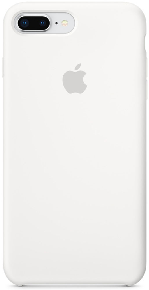 Apple Silicone Case чехол для iPhone 7 Plus/8 Plus, White usb флешка sandisk ultra dual 64gb black sddd3 064g g46 usb 3 0 microusb
