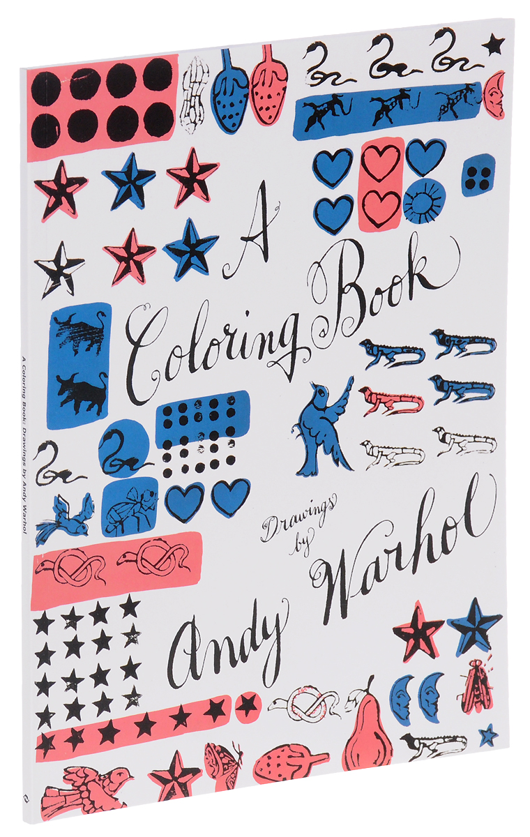 A Coloring Book: Drawings by Andy Warhol andy warhol by pepe jeans короткое платье