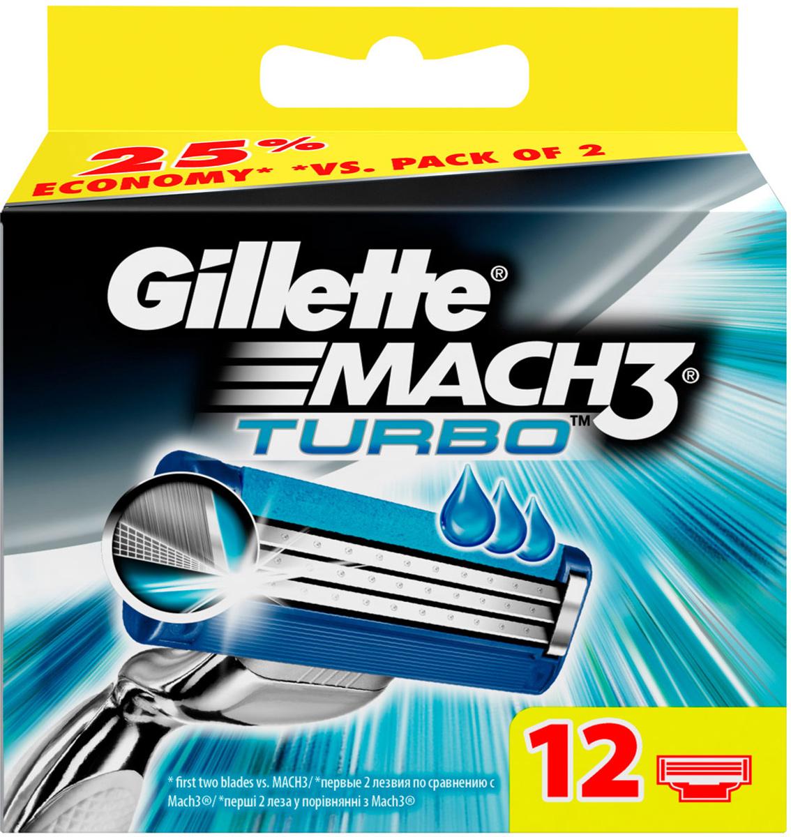 Сменные кассеты для бритья Gillette Mach 3 Turbo, 12 шт.MCT-81424006Новые лезвия. Острее, чем одноразоваябритва. Бреет без раздражения. Даже 10-ое бритье Mach3 комфортнее 1-го одноразовой бритвой. Совершенствуй процесс бритья с бритвой Mach3! Gillette Mach3 Turbo имеет более острые лезвия (первые два лезвия в сравнении с Mach3) и обеспечивает гладкое бритье без раздражения по сравнению одноразовыми бритвами Bluell Plus. Лезвия Turbo легче срезают щетину, не тянут и не дергают волоски (первые два лезвия в сравнении с Mach3), даря вам невероятный комфорт. В то же время гелевая полоска Comfort помогает сохранить дольшевашу бритву Mach3 Turbo и мягко скользит по коже (по сравнению с одноразовыми бритвенными станками Bluell Plus). Этот станок имеет вдвое больше микрогребней SkinGuard для мягкости бритья (по сравнению с одноразовыми бритвенными станками Bluell Plus). Плавающая головка обеспечивает тесный контакт лезвий с кожей, рукоятка с регулировкой нажатия адаптируется к контурам лица для более легкого и комфортного бритья (по сравнению с одноразовыми бритвенными станками Blueell Plus). Даже десятое бритье Mach 3 комфортнее первого одноразовой бритвой (по сравнению с одноразовыми станками для бритья Bluell Plus). Первые два лезвия по сравнению с Gillette BlueII PlusПо сравнению с Gillette BlueII PlusСрок хранения - 5 лет. Страна производства - Польша. Характеристики:Материал: пластик, металл. Количество в упаковке: 12 шт. Товар сертифицирован.Состав смазывающей полоски: PEG-115M, PEG-7M, PEG-100, TOCOPHERYL ACETATE, BHT, ALOE BARBADENSIS.