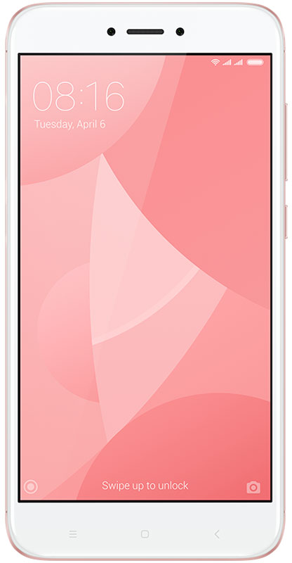 Xiaomi Redmi 4X (16GB), PinkREDMI4XPK16GBXiaomi Redmi 4X собрал в себе все самые важные качества отличного смартфона. Аккумулятор ёмкостью 4100 мАч способен работать до 18 дней в режиме ожидания и до 2 дней при интенсивном использовании.Новый Redmi 4X помещен в красивый металлический корпус, сделанный из анодированного алюминия. Две яркие линии на задней поверхности телефона, образованные благодаря процессу алмазной резки, придают телефону дополнительный блеск.Данная модель удобно лежит в ладони, даже во время долгих игровых сессий или просмотра фильмов. Поставляется с изогнутым стеклом 2.5 D, которое ощущается на удивление гладким, когда вы касаетесь его или проводите пальцем по экрану.Батарея, подпитываемая 8-ядерным процессор Snapdragon 435, который имеет более высокую производительность, а также потребляет меньше энергии по сравнению со своим предшественником. Теперь вы можете играть в любимые игры в течение всего дня, без каких-либо задержек.Часто приходится спешить и на ввод пароля просто нет времени? Дайте пальцам самим сделать это. Redmi 4X содержит сенсор отпечатка пальцев, который предоставляет быстрый доступ к личному профилю и файлам.Почувствуйте разницу, делая снимки на Redmi 4Х. Фотографии получаются четкими и яркими, благодаря 13 Мп задней камере, оснащённой PDAF-матрицей с быстрым фокусированием в 0,3 сек. Камера имеет целый ряд встроенных функций, которые помогут вам без малейших усилий сделать отличные панорамные и чёткие ночные снимки.Redmi 4X позволяет использовать различные пароли или отпечатки пальцев для доступа к соответствующим профилям, с их собственными обоями, приложениями, файлами и фотографиями. Идеальное решение, когда вам необходимо четкое разделение.Два лучше, чем один. Откройте для себя функцию дублирования приложений, позволяющую авторизироваться с двух разных аккаунтов, включая WhatsApp, Facebook.Телефон сертифицирован EAC и имеет русифицированный интерфейс меню и Руководство пользователя.Телефон для ребёнка: советы экспертов. Ста