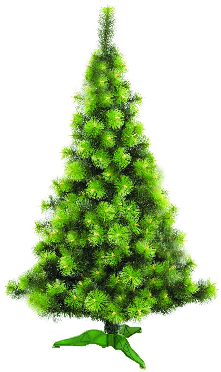 Сосна искусственная Morozco Крымская с инеем, цвет: зеленый, высота 1,5 м1115Искусственная сосна Крымская с инеем - прекрасный вариант для оформления вашего интерьера к Новому году. Такие деревья абсолютно безопасны, удобны в сборке и не занимают много места при хранении.Сосна состоит из верхушки, ствола и устойчивой подставки. Сосна быстро и легко устанавливается и имеет естественный и абсолютно натуральный вид, отличающийся от своих прототипов разве что совершенством форм и мягкостью иголок.Сосновые иголочки не осыпаются, не мнутся и не выцветают со временем. Полимерные материалы, из которых они изготовлены, не токсичны и не поддаются горению. Сосна Morozco обязательно создаст настроение волшебства и уюта, а так же станет прекрасным украшением дома на период новогодних праздников.