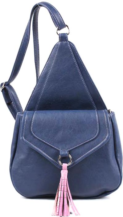 Рюкзак женский Медведково, цвет: темно-синий. 17с4022-к14