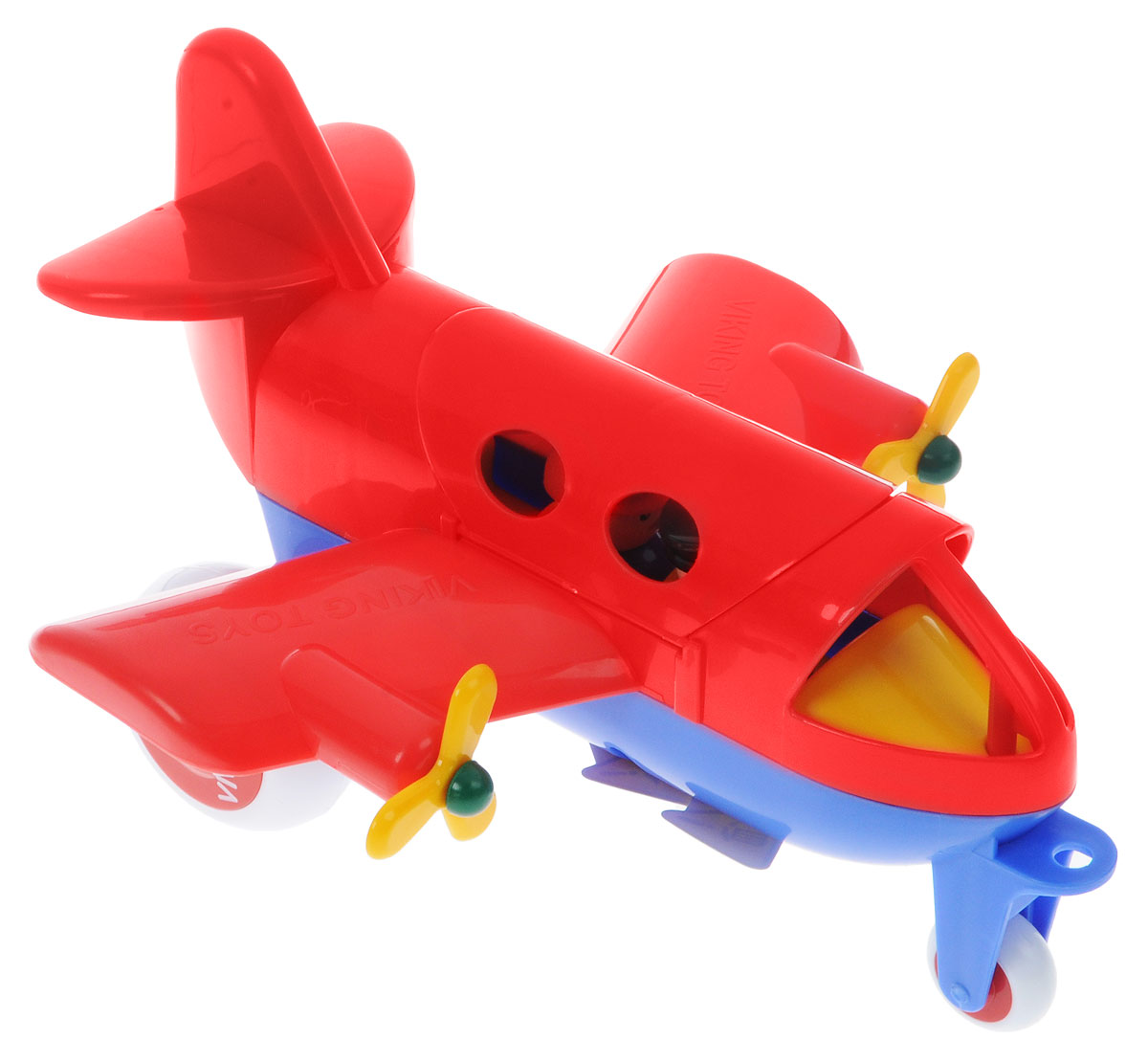Viking Toys Самолет Джамбо цвет красный - Транспорт, машинки